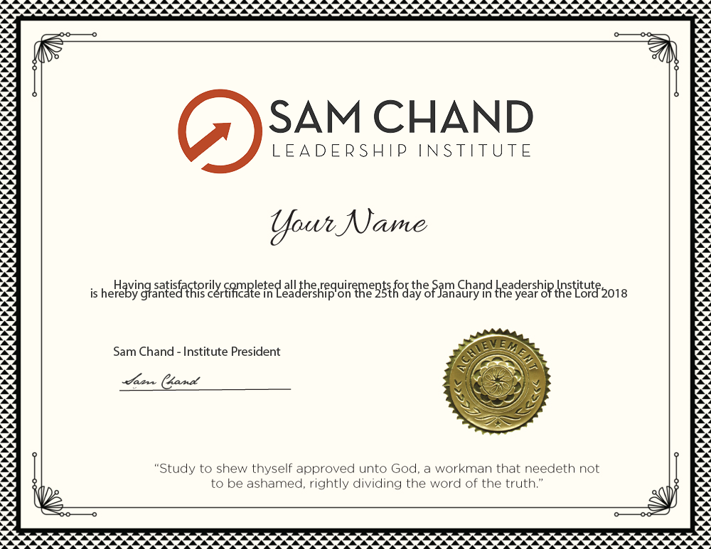 Sam Chand Leadership Institute
